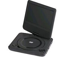 """ONN 180°Swivel Portable DVD Player Kit 7""""Screen Buit-In Stereo Speakers USB Port"""