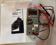 Hp Digital Multimeter E2377a Type K Thermocouple Temperature Test Withuser Manual