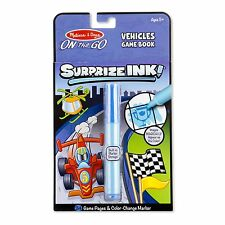 Melissa And Doug On The Go Surprize Ink Vehicles Game Book NEW Toys Kids
