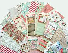 Crate Paper  [ Bundled Up]  12 x 12 Paper & Embellishments  (Set F)   Save 60%25