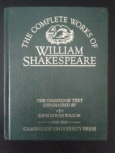 The Complete Works of William Shakespeare - Cambridge Text University Press