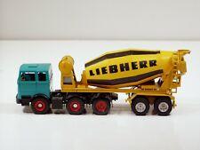Mercedes Benz Liebherr Cement Mixer - 1/50 - Gescha #3050
