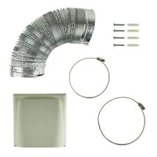 Kitchen Cooker Hood Cowl Vent Ducting Kit 150mm x 3m Universal Fit for Extractor