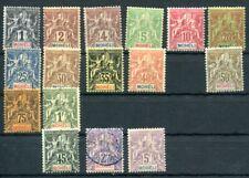 MOHELI 1906 Yvert 1-16 meist * SCHÖNER SATZ 500€(S5428