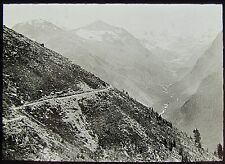 Glass Magic Lantern Slide SWISS GRISSONS NO86 C1910 PHOTO SWITZERLAND PATH