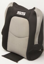 OEM HHR SS Front Right Upper Seat Cover 25872664 Black & Gray Suede