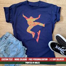 Ladies Skateboarder T Shirt Funny Skateboard Skateboarding Penny Ramps Gift Top