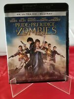 PRIDE AND PREJUDICE AND ZOMBIES 4K ULTRA HD BLU RAY