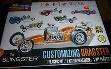Monogram 'The Slingster' Customizing Dragster 1/25 Model Car Mountain FS
