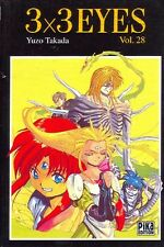 3x3 EYES Tome 28 Takada PIKA manga seinen