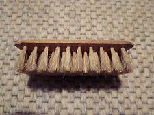 Echthaarbürste rechteckig mit Holzgriff 2er Set