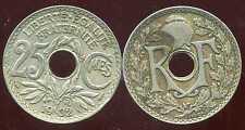 25 centimes  1932  lindauer