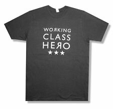"MANIC STREET PREACHERS - ""WORKING CLASS HERO"" GREY T-SHIRT - NEW ADULT XL"
