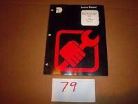 Dresser D240N D240T D240TA D359N D359T D359TA Engines Service Manual