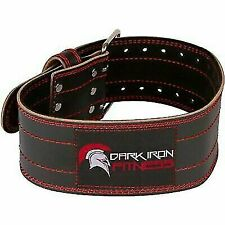 Dark Iron Fitness Size Small Leather Pro Weight Lifting Belt