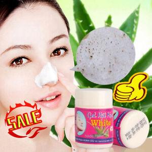 GEL HUT MUN White Aloe Vera Whiteheads Blackhead Pore Mask Nose Peel Free Ship