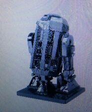 *3D METAL* STAR WARS MODEL CONSTRUCTION KIT R2 D2 DROID ROBOT.