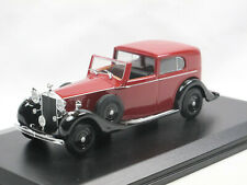 Oxford Diecast Rolls Royce Phantom III Sedanca de Ville Mulliner red/black 1/43
