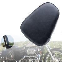 Universal Passenger PU Sissy Bar Backrest Cushion Pad for Harley