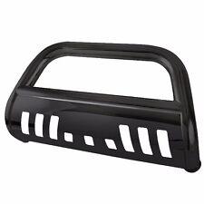 2017 FORD F150 BLACK BULL BAR W/SKID PLATE BRUSH PUSH U BAR GRILLE GUARDS BUMPER