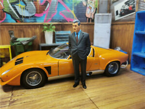 1:18   Ferruccio Lamborghini Figure Toy Custom Made Product Painted