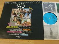 LP Various Die grossen Erfolge 83 Erna kommt Oh Darling Vinyl Amiga DDR 8 56 025