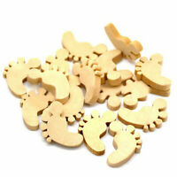 Wooden Embellishments for Crafts Rustic Wedding Decoration Buttons CraftingA6Y3