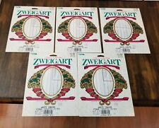 "Zweigart/'s 8.5 Count Waste Canvas for Cross Stitch 9/"" x 9/""  6 Packages"
