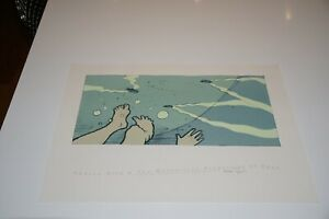 JayJay Ryan Poster - Andrew Bird - The Naming of Things - Signed Print 2005