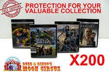 200x 4K UHD WITHOUT SLIPCOVER - CLEAR PROTECTIVE BOX PROTECTOR SLEEVE CASE