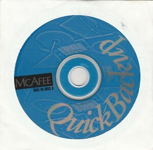 McAfee Quick Backup