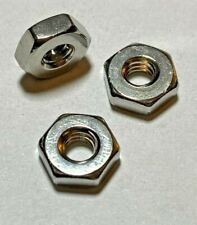 Hex Machine Screw Nuts Stainless Steel, choose size (4-40 6-32 8-32) and qty