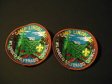 2 Scouts Scouting BSA Patch Patches Camp Lindblad Mt. Diablo Silverado Council