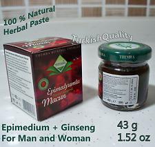 Epimedium + Ginseng Herbal Paste %100 Natural Aphrodisiac 43g / 1.52oz -  THEMRA