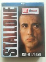 COFFRET 7 BLU RAY NEUF Creed, Tango & Cash, Cobra, L'expert, Demolition man...