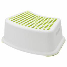 Ikea Försiktig Enfants Tabouret Blanc/Vert
