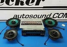 Mercedes Benz 123 chassis 1981-82 upgrade OEM system with bluetooth streaming