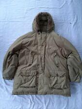 Woolrich Mens Arctic Jacket Parka XXl Yellow tan Sand