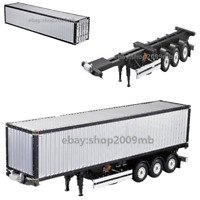 1/14 20FT 40FT Aluminium Frame Container RC Tamiya Scania R620 Actros Trailer