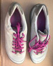 Mint ECCO BIOM Grip Hydromax Yak Stone Leather Golf Shoes Women's 38