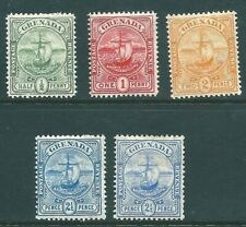 GRENADA 1906 mint SET including both 2.5d shades