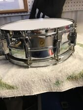 LUDWIG 1965 vintage SUPER SENSITIVE SNARE WITH CASE