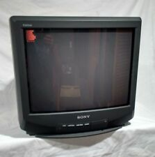 "Vintage NOS 1995 SONY Trinitron 20"" CRT COLOR TV Retro Gaming  RARE UNUSED NEW"