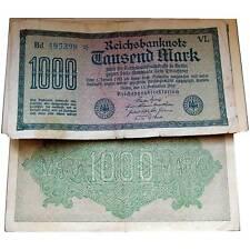 1000 Mark 1922 Erhaltung 3-4 VF-F / 616074vvv