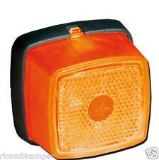 Luce Ingombro Laterale arancione Fanalino a Lampadina Ricambi Camper Caravan