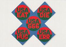 Kunstkarte/ Postcard: Robert Indiana - USA 666