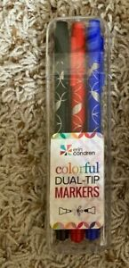 Erin Condren Classic Dual Tip Markers set of 3 Pack - brand new