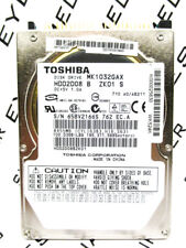 Toshiba 100GB MK1032GAX IDE (HDD2D08 B ZK01 S) Laptop Hard Drive WIPED & TESTED!