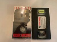 Mission Impossible VHS Video Tape Tom Cruise