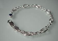 Bracciali di lusso maglie in argento sterling